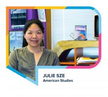 Julie Sze headshot