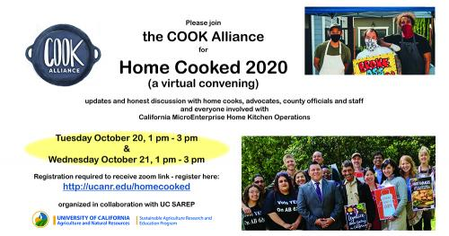 a facebook invitation to a virtual presentation abouut the homestead food act and microenterprises