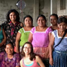 group of indigenous women