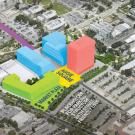 rendering of aggie square in sacramento